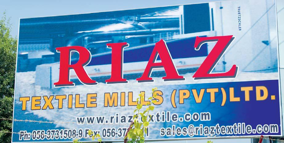 Welcome | Riaz Textile Mills Pvt Ltd